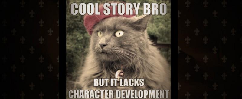 character development cat