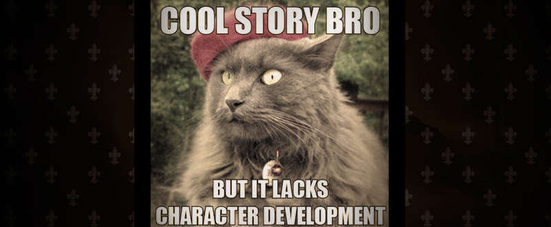character development cat